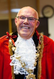Ruthin Mayor Jim Bryan - DJW150517